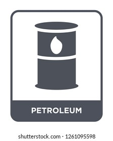 petroleum icon vector on white background, petroleum trendy filled icons from Desert collection, petroleum simple element illustration