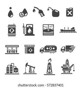 petroleum oil icon