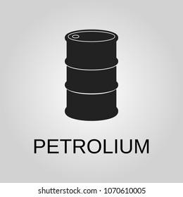 Petrolium icon. Petrolium symbol. Flat design. Stock - Vector illustration