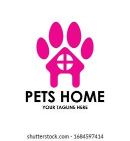 pets home logo vector iluustration