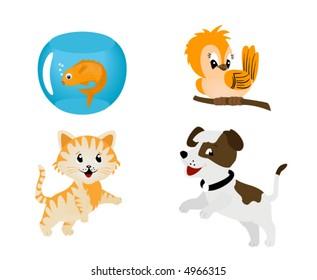 Pets - Vector
