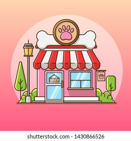 petshop vector, very suitable for decoration, sticker and other.