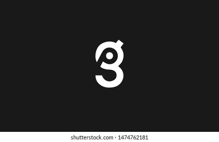 pg/gp Letters Logo Design. Simple and Creative Letter Concept Illustration vector