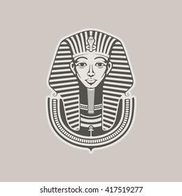 Pharaoh / Vector illustration
