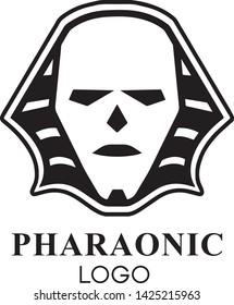 Pharaonic Logo Design for brands by mustafa khaled Logo Concept :  king of Pharaonic face