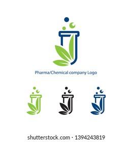 Pharma, Chemical company Logo Design