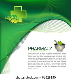Pharmacy brochure template