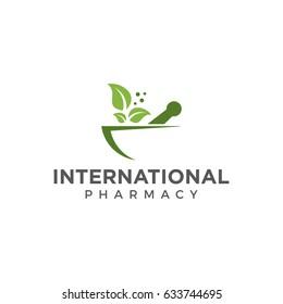 pharmacy logo icon vector template