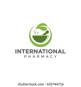 pharmacy logo icon vector template