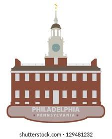 Philadelphia. Symbol city