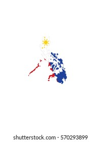 Philipines map vector