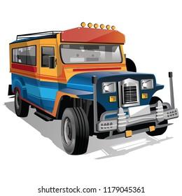 Jeepney Images Stock Photos Vectors Shutterstock