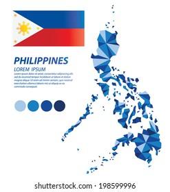 Philippines geometric concept design