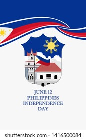 Philippines Independence Day Vector Illustration. Suitable for greeting card, poster and banner