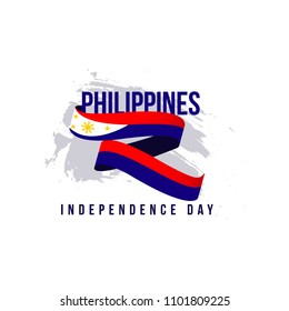Philippines Independent Day Vector Template Design Illustration