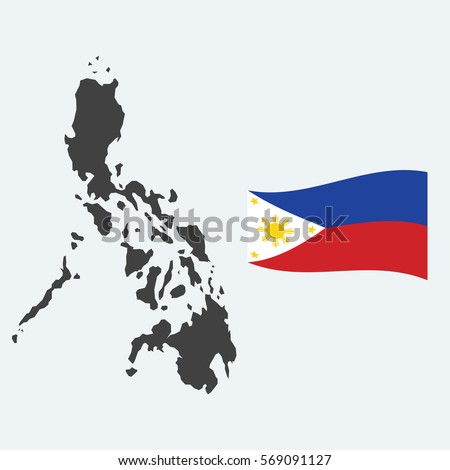 5b36fe5312d44 Philippines Map Flag Using Education Business Stock Vector (Royalty ...
