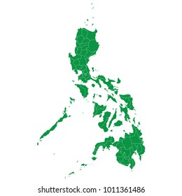 Philippines map images stock photos vectors shutterstock philippines map isolated on transparent background high detailed green map of philippines vector illustration gumiabroncs Image collections