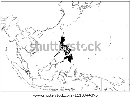 philippines map wallpaper map geography stock vector royalty free Metro Manila Map philippines map wallpaper map geography