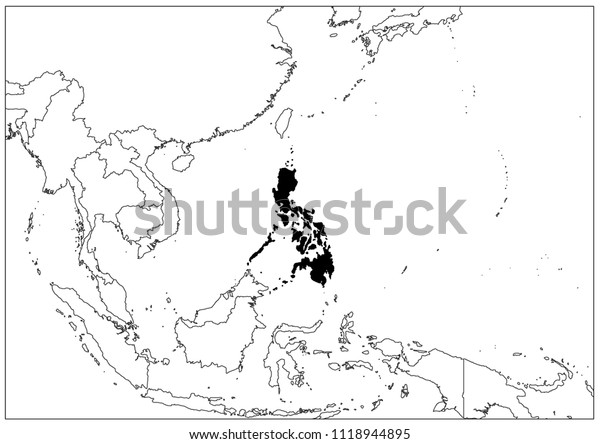 Philippines map wallpaper map geography