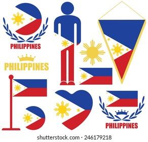 Philippines. Vector illustration