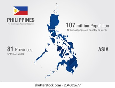 Philippines Map Images, Stock Photos & Vectors | Shutterstock