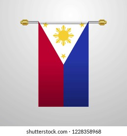 Phillipines hanging Flag