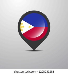 Phillipines Map Pin