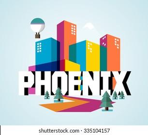 Phoenix beautiful city in world