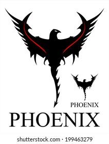 Phoenix. Black Phoenix