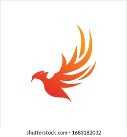 Phoenix fire Cool Logo Template