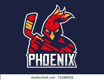 Phoenix hockey logotype