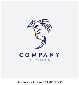 Phoenix logo simple for any business