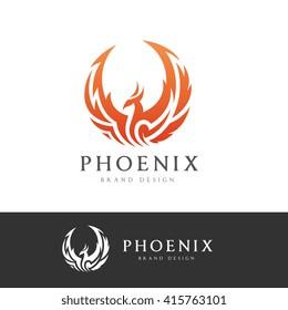 Phoenix Logo template.