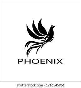 Phoenix Logo Template vector illustration design
