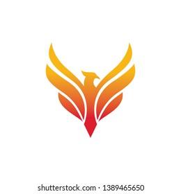 Phoenix Logo - Vector logo template