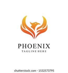 Phoenix luxury Logo - Vector logo template