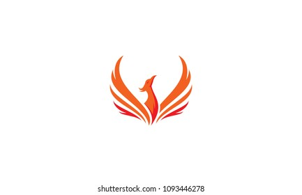 phoenix red fire logo
