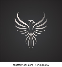 Phoenix vector drawing