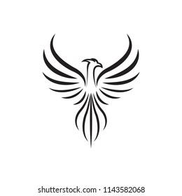 Phoenix vector drawing