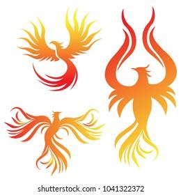 Phoenix vector EPS FIle