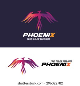 Phoenix Vector Logo Template