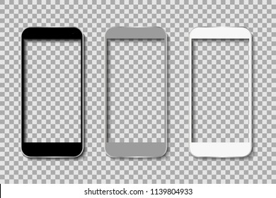 Phone body without screen – stock vector