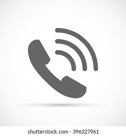 Phone Call icon. Vector Ringing Phone Icon