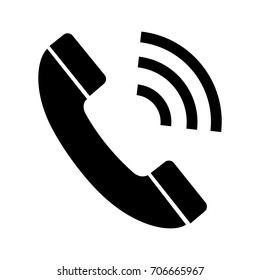 Phone Call vector icon.