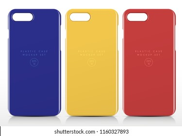 Phone Case Template : Vector Illustration