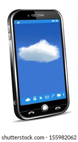 Phone Cloud Concept - Phone access for your files info