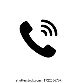 Phone and communication vector icon set