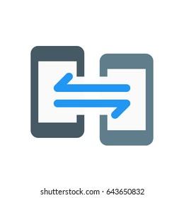 phone data exchange