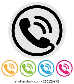 Phone Icon Blue Images, Stock Photos & Vectors | Shutterstock