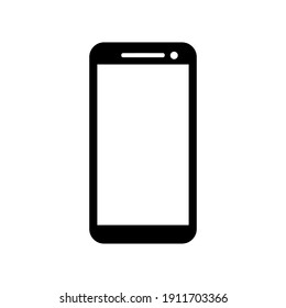 Phone icon, call, mobile, smartphone, telephone device, gadget, contact icon - stock vector